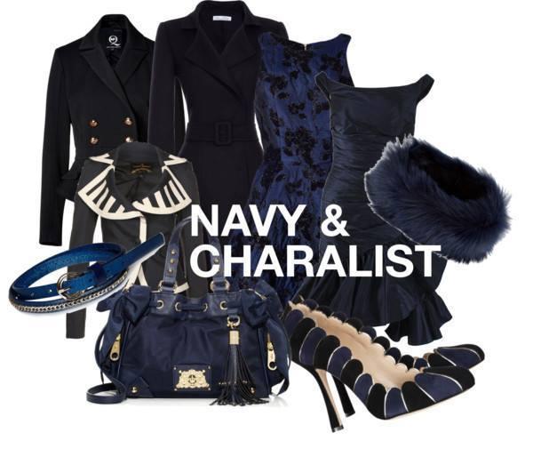 ネイビー 紺色  レディーススーツ