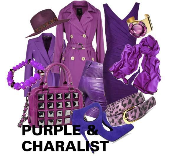 パープル 紫色 レディーススーツ