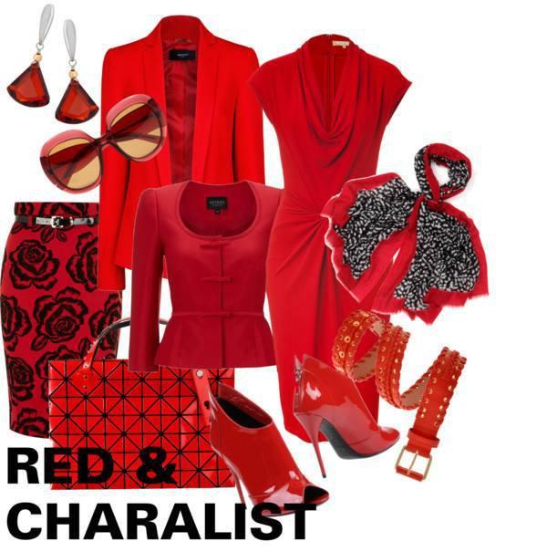 レッド 赤色 レディーススーツ