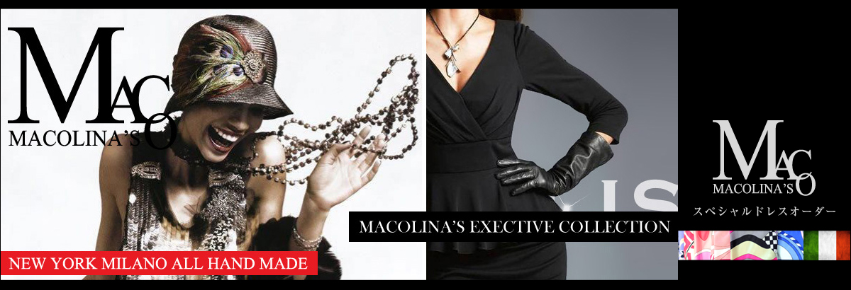 マコリナズトップ | レディーススーツCHARALIST オーダーメイドドレス ワンピース ツーピース カシュクール