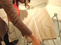 スカート採寸方法