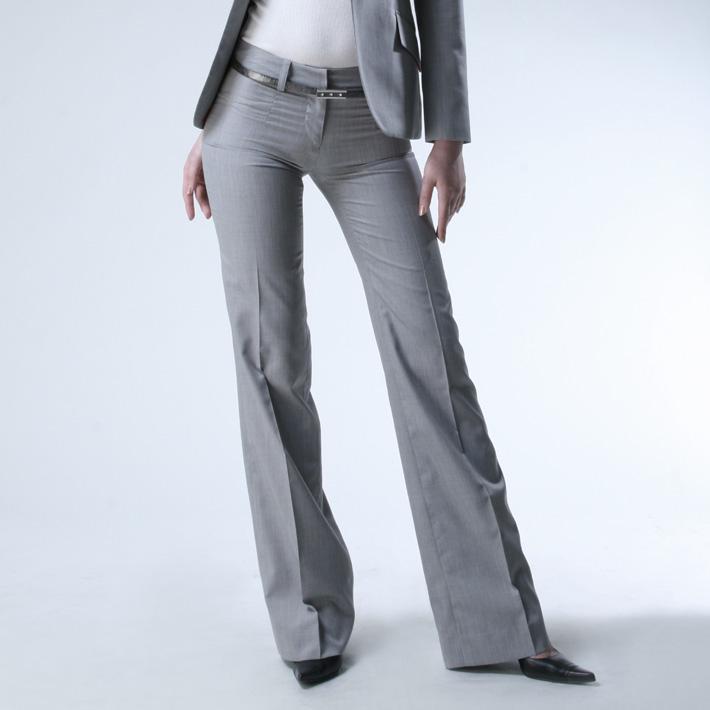 ヒップハングフレアパンツ<br />Flare Leg Pants