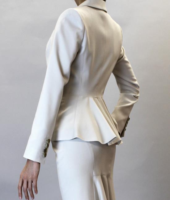 フリルデザインジャケット<br />Frill Peplum Jacket