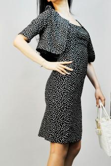 ワンピーススーツ 水玉柄 ボレロ<br />Dotted Dress & Bolero