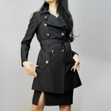 トレンチコート スプリングコート シルキーな風合い<br />Trench Coat