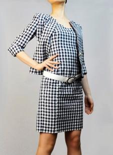 ワンピーススーツ ギンガムチェック柄<br />Gingam Dress Suit