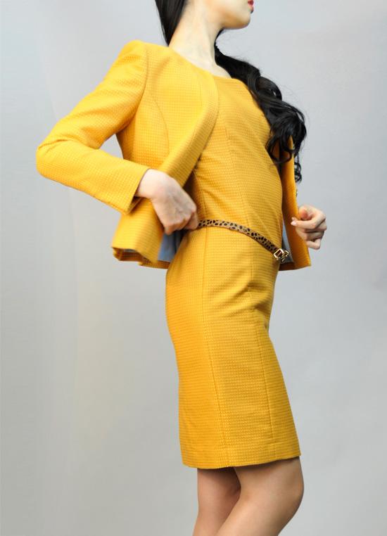 ワンピーススーツ レトロな着こなし<br />Dress Suit in Retro Style