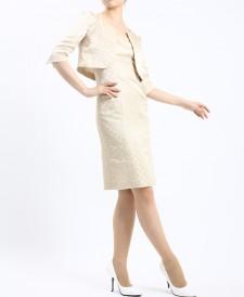 ワンピーススーツ パーティードレスにおすすめ<br />Bolero & Camisole Sheath Dress
