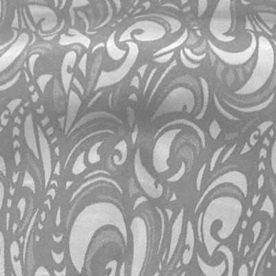 リーフ調柄グレー(KKF6820CD-6459-46)