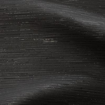 ラメ入りスパンブッチャーブラック(KKF7223-20-BACK)
