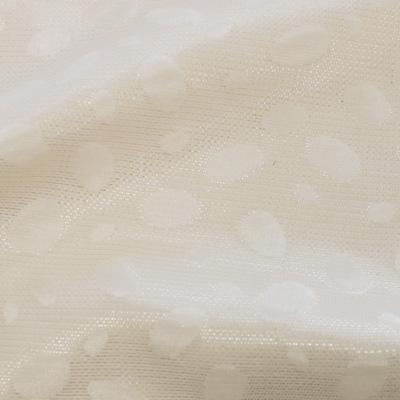 ラメ入りジャカードホワイト(KKF7230-1-11)