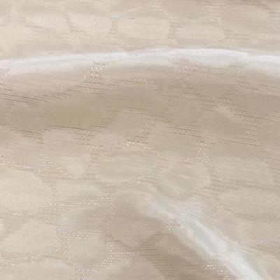 ラメ入りジャカードホワイト(KKF7230-2-11)