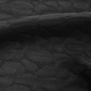 ラメ入りジャカードブラック(KKF7230-2-20)