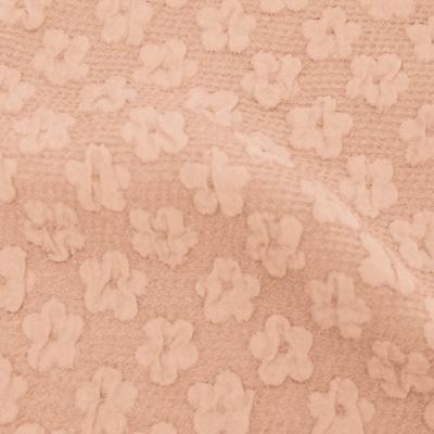 小花柄フクレジャカードピンク(KKF7605-1-38/UN1000)