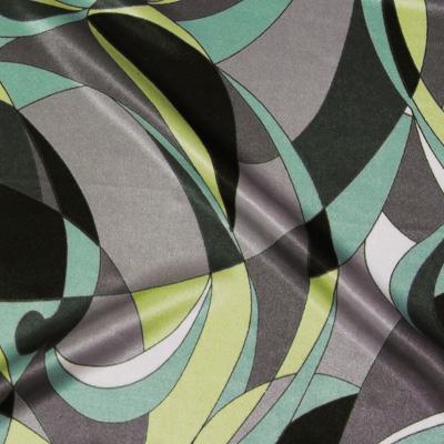 幾何学模様グリーン(KKP7272-79-A)