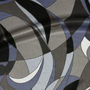 幾何学模様ブルー(KKP7272-79-D)