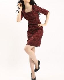 ワンピース ストレッチ素材<br />Stretch High Waist Sheath Dress