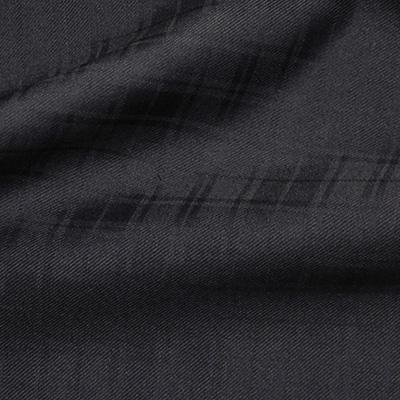 LaserCloth ネイビー織柄チェック(36616-2)