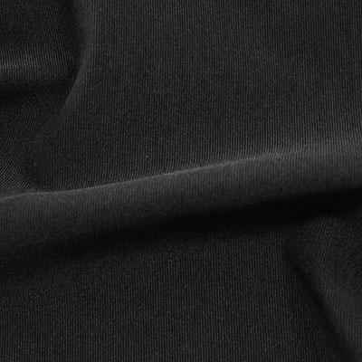 ハードピケトリコット ブラック(49023-3)