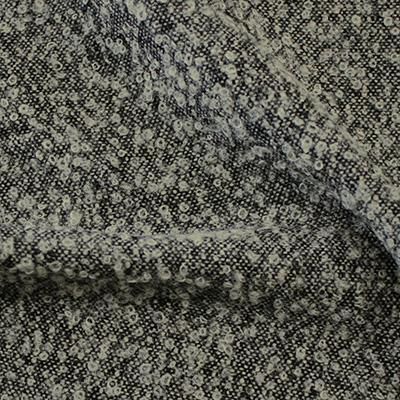 ループツイード ライトグレー(49047-2) / Lt.Gray Wool Mix Loop Tweed
