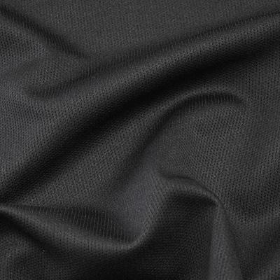 ピンドットメッシュニット ブラック(49072-3) / Black Stretch Mesh