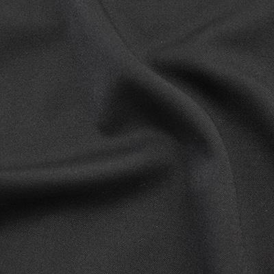 ウールギャバジン ブラック(49091-3)