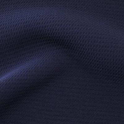 ストレッチワッフル ネイビー(KKF9616-19) / Navy Stretch Polyester