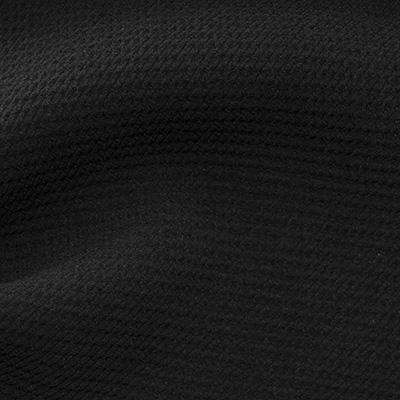 ストレッチワッフル ブラック(KKF9616-20) / Black Stretch Polyester
