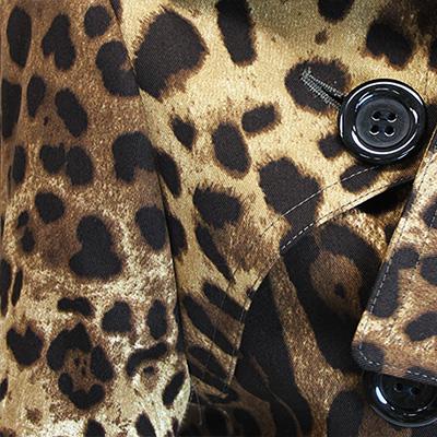 ミラノ輸入プリント レオパード柄(LEO) / Cotton Leopard Print from Milan
