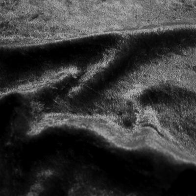 クラッシュベロア ブラック(43788-9) / Black Crashed Velour