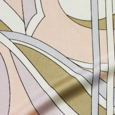 PAROLARI EMILIO PUCCI ストレッチピンク×ベージュ×ホワイト(8223-15)/ Printed Stretchy