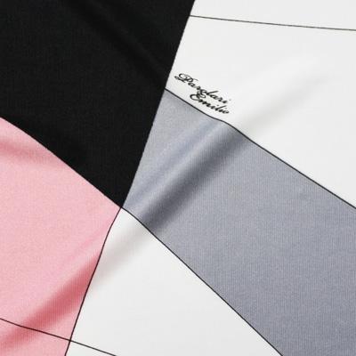 PAROLARI EMILIO PUCCI ストレッチグレー×ブラック×ピンク(8223-5) / Printed Stretchy