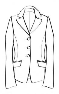 3ボタンテーラードジャケット(RJ-15) / 3-Button Tailored