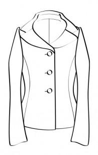 デコルテジャケット(RJ-16) / Decoltee Jacket