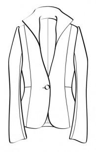 ハイカラージャケット(RJ-2) / High Collar Jacket