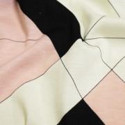 PAROLARI EMILIO PUCCI ストレッチ アイボリー×ピンク×ブラック プッチ柄(4417-39) / Ivory & Pink Stretch Cotton