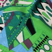 PAROLARI EMILIO PUCCI グリーン×ライトブルー×ピンク他 (A901-1532A_C) / Green Cotton-Linen