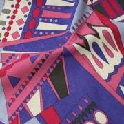 PAROLARI EMILIO PUCCI ピンク×パープル×アイボリー他 (A901-1532A_D) / Pink Cotton-Linen