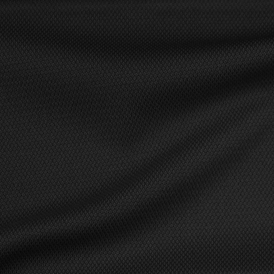 スムース ブラック 無地 / Black Double Face Knit(KKF1996-20)