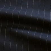 ネイビー ピン・ストライプ / Navy Wool Pinstripe(46604-3)