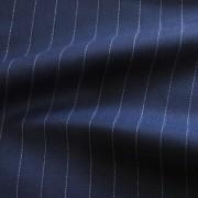 ブルー ピン・ストライプ / Blue Wool Pinstripe (46604-4)