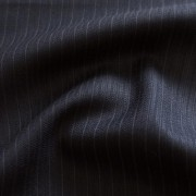 ブラック セルフ・ストライプ / Black Wool Self Stripe (46635-4)