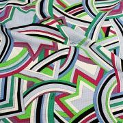PAROLARI EMILIO PUCCI グリーン プッチ柄 / Cotton  Green (9301-15)