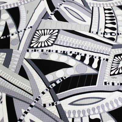 PAROLARI EMILIO PUCCI グレー プッチ柄 / Cotton  Gray (9301-18)