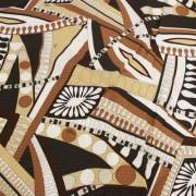 PAROLARI EMILIO PUCCI ブラウン プッチ柄 / Cotton  Brown (9301-19)
