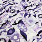 PAROLARI EMILIO PUCCI パープル プッチ柄(9301-23) / Cotton  Purple