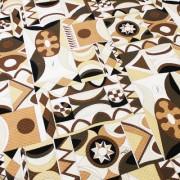 PAROLARI EMILIO PUCCI ブラウン プッチ柄(9301-24/PE) / Cotton  Brown