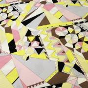 PAROLARI EMILIO PUCCI ピンクスクエア プッチ柄 / Cotton  Pink Square  Print(9301-26)