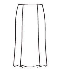 マーメイドスカート(DK-4) / Mermaid Skirt
