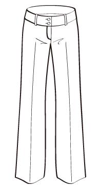 バギーワイドパンツ(DP-3) / Wide Leg Pant